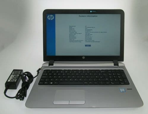 "HP ProBook 450 G3 FHD 15.6"" i5-6200U 2.3Ghz 4GB DDR4 500GB HDD Win10 Pro Laptop"